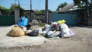 Жители Одесской области устроили мусорный бунт