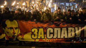 Дети Украины нанесли русофобке удар по Бандере