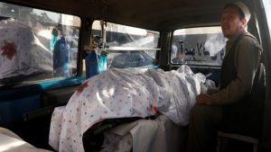 Число погибших при взрыве в Кабуле достигло 48 человек