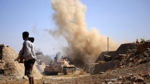 Йеменское население оказалось в ловушке близ Ходейды