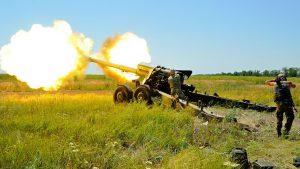 Донбасс. Оперативная лента военных событий 18.08.2018