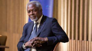 Умер Кофи Аннан