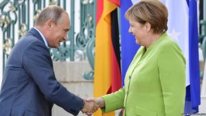 Пресс-служба Кремля рассказала о итогах переговоров Путина и Меркель