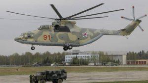 Модернизированный тяжелый транспортный вертолет Ми-26Т2В совершил первый полет