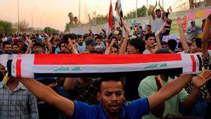 В ходе иракских протестов задержан боевик ИГ