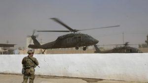 Крушение военного вертолета США: один погиб, трое ранены