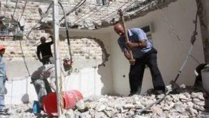 Израильская полиция снесла самострой палестинца