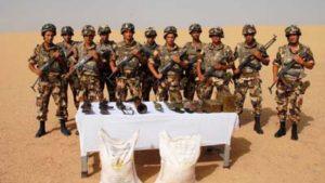 В Алжире обнаружен тайник оружия и взрывчатки