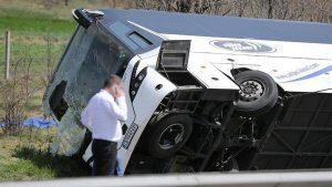 В аварии в Болгарии погибли 15 человек