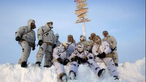 Россия строит базу ПВО в Арктике