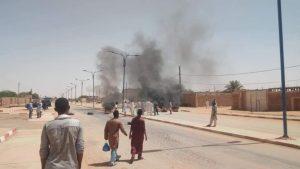 Массовые протесты в Алжире
