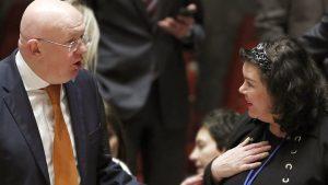 Небензя парировал слова постпреда Британии при ООН о провокации в Сирии