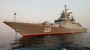 Корвет «Громкий» прибыл на испытания во Владивосток