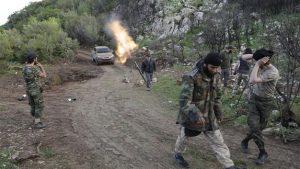 Боевики атаковали позиции САА в Латакии