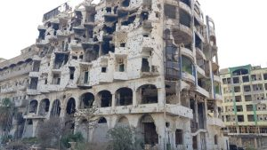 Разрушения в ливийском Бенгази — видео
