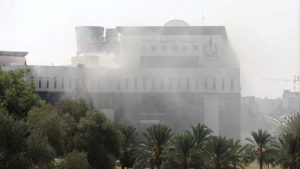 В Ливии в штаб-квартире нефтяной корпорации прогремел взрыв