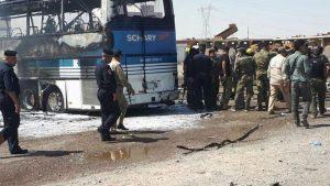 В Ираке взорван автобус с шиитскими ополченцами