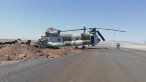 В Иране упал военно-транспортный вертолет «Чинук»