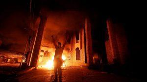 В Ираке задержаны подозреваемые в поджоге консульства Ирана