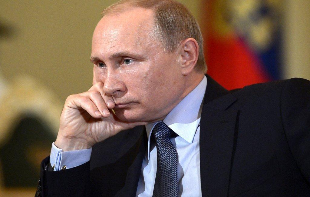 В.Путина  выдвинули наНобелевскую премию мира