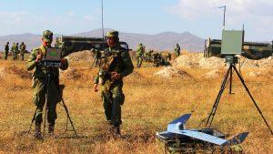 ВС РФ в Армении совершили марш в рамках проверки боеготовности