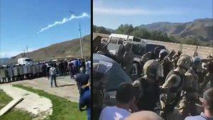 В селе Кабардино-Балкарии произошли беспорядки во время конного похода