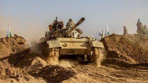 Иракское ополчение бьет ИГИЛ в Салах ад-Дин