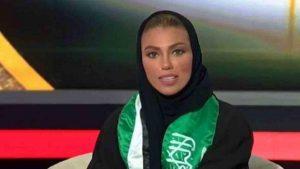 На саудовском ТВ появилась первая женщина-ведущий
