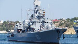 Группа украинских кораблей пришли Керченский пролив