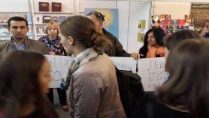 Во Львове националисты протестовали против неугодного им учебника по истории