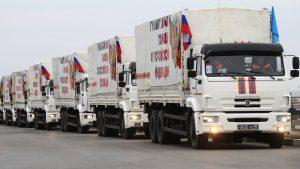 Россия оправляет в Донбасс 81-ю колонну с гуманитарной помощью