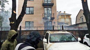 Россия вручила Украине ноту из-за атаки радикалов на торгпредство РФ