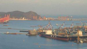 В Южной Корее арестовано российское судно