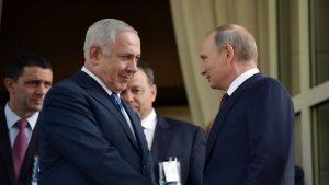 Путин и Нетаньяху договорились о первой встрече после сбитого Ил-20