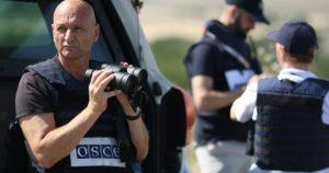 Сотрудники ОБСЕ попали под обстрел на оккупированной ВСУ части Донбасса