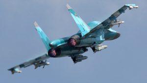 Два новых Су-34 переданы ВКС России