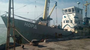 За долги: Российское судно «Норд» изъято Украиной