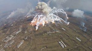 Взрывы на арсеналах лишили Украину 40% всех снарядов