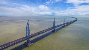 В Китае построен самый длинный морской мост в мире