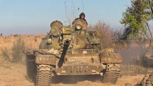 Сирийская армия стягивает силы к линии фронта в Идлибе