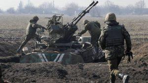 Хроники «перемирия»: На Бахмутке идёт плотный бой с украинскими боевиками