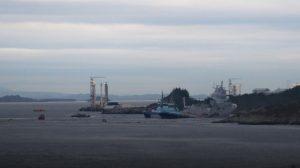 норвежский фрегат Helge Ingstad столкнулся с танкером