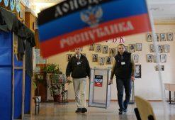 Выборы в ДНР и ЛНР проходят с высокой явкой избирателей