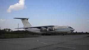 Ан-26 на открытом аэропорте Долгинцевское