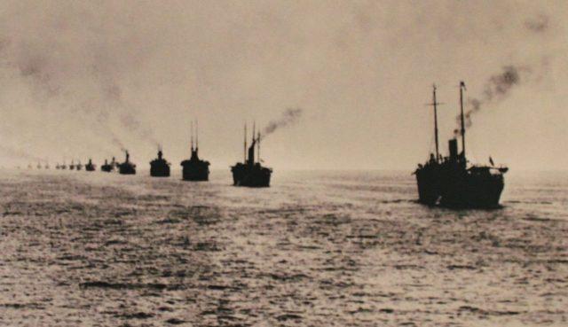 Переход Русской эскадры в Бизерту