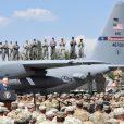 Майк Пенс на военных учениях в тбилиси июль 2017