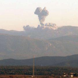 ВКС РФ нанесли удары по боевикам в Идлибе