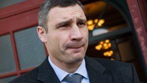 Украинцы поставили работе мэра Кличко «неуд»