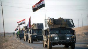 Армия Ирака стягивает подкрепления к границе с Сирией