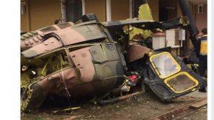 В Стамбуле рухнул военный вертолёт